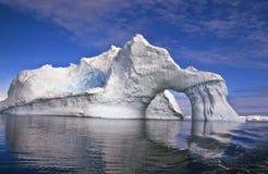 ärke- isberg för Antarktis Royaltyfria Foton