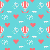 Épouser le fond romantique sans couture Image libre de droits