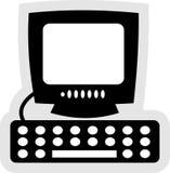 Ícone do computador Fotografia de Stock Royalty Free