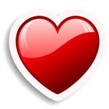 Ícone do coração Fotos de Stock