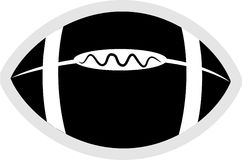 Ícone do futebol Imagem de Stock