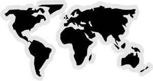 Ícone do mundo Imagens de Stock