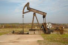Ölquelle Lizenzfreie Stockbilder