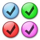 Ιστός σχεδίου κουμπιών Στοκ εικόνες με δικαίωμα ελεύθερης χρήσης
