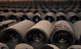 κρασί μπουκαλιών Στοκ Φωτογραφία