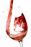 χύνοντας κόκκινο κρασί Στοκ Φωτογραφία