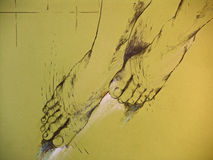 женщина ног s чертежа Стоковые Изображения RF