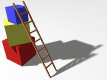 принципиальная схема строения вверх Стоковые Фото
