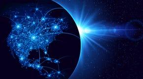 全球性通信 免版税库存照片