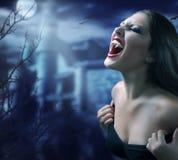 吸血鬼 库存照片