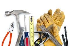 建筑堆工具 库存图片