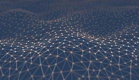 抽象背景科学技术 免版税库存图片