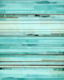 绿松石和布朗抽象派绘画 免版税库存照片