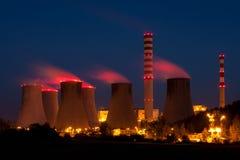 核电站 免版税库存照片