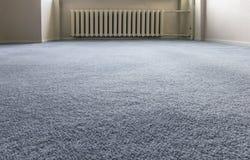 蓝色地毯地板 库存图片