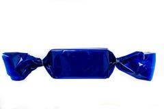 蓝色糖果 免版税库存照片