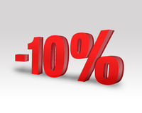 -10% Discount Royalty Free Stock Photography