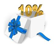 10% discount concept Stock Images