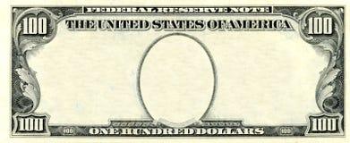 100 dollari di blocco per grafici Immagini Stock