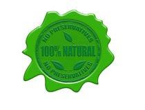 100% natural wax seal Royalty Free Stock Photos