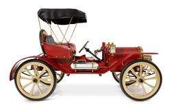 1910 antika bil Fotografering för Bildbyråer