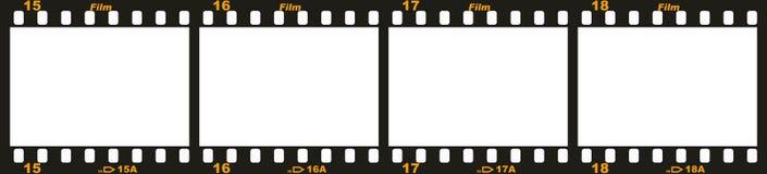35mm film strip Stock Images