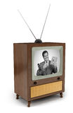 50s TV commercial Royalty Free Stock Image