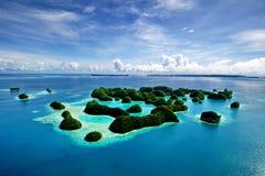 70 wysp Palau Fotografia Stock