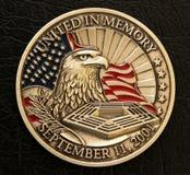 9/11 Memorial Coin Royalty Free Stock Image