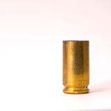 9mm shell casing Royalty Free Stock Photo