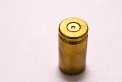 9mm shell casing Stock Photo