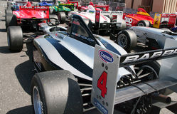A1 Grand Prix cars Stock Photo