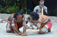 Aboriginal culture show in Queensland Australia Royalty Free Stock Photography