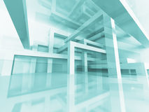 Abstract Architecture Braced Construction Structure Background Royalty Free Stock Photography