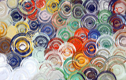 Abstract art swirl colorful background & Wallpaper Stock Photography