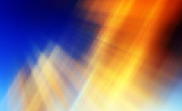 Abstract background in orange, blue and yellow Royalty Free Stock Photography