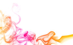 Abstract color smoke Royalty Free Stock Photography
