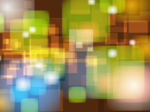 Abstract Colorful Blur Bokeh background Design Stock Photography