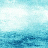Abstract colorful water color for background. Textured blue gree Stock Image