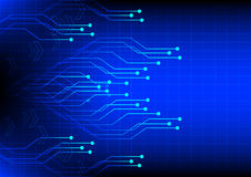 Abstract electronics  digital technology  blue background Stock Images