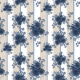 Abstract elegance seamless pattern with roses flowers background Stock Images