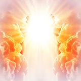 Abstract explosion of energy Royalty Free Stock Image