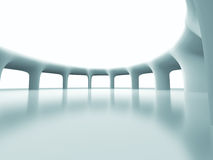 Abstract Futuristic Column Architecture Background Stock Images