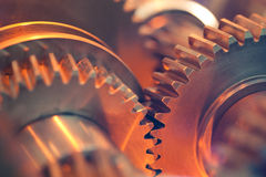 Abstract gears Royalty Free Stock Photos