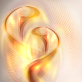 Abstract golden swirl background Royalty Free Stock Image