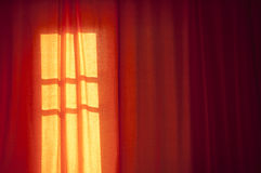 Abstract Loneliness Shadows Room Stock Photos