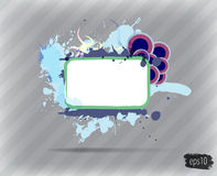 Abstract modern banner. Stock Photos
