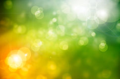 Abstract nature background spring greens Royalty Free Stock Photography