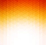 Abstract orange geometric technology background Stock Photography