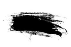 Abstract paint brush stroke Royalty Free Stock Image